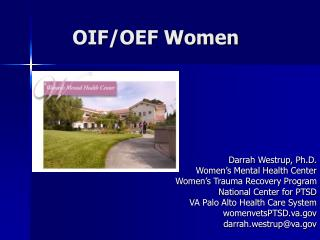 OIF/OEF Women