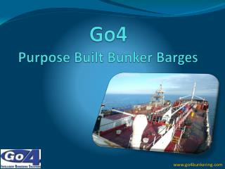 Go4 Purpose Built Bunker Barges