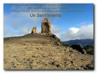 El Roque Nublo es más que un paraje de belleza casi infinita.