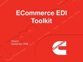 ECommerce EDI Toolkit