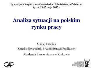 Analiza sytuacji na polskim rynku pracy