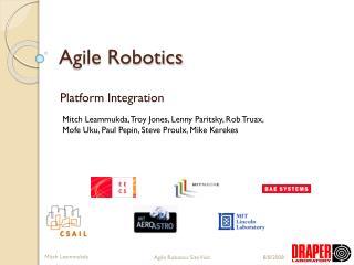Agile Robotics