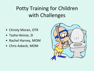 Potty Training for Children  with Challenges