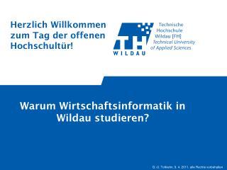 Warum Wirtschaftsinformatik in Wildau studieren?