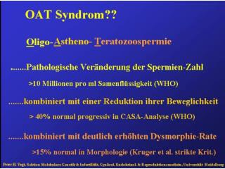 OAT-Syndrom