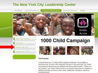 Click on 13.1 New York benefitting World Vision