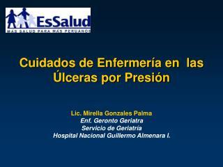 Cuidados de Enfermería en  las Úlceras por Presión