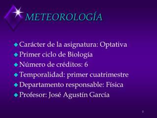 METEOROLOG�A