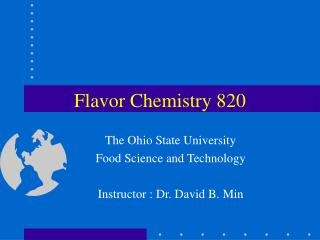 Flavor Chemistry 820