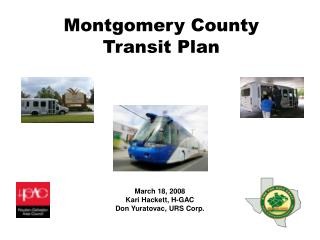 Montgomery County  Transit Plan