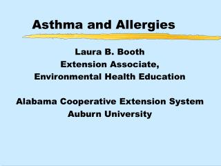 Asthma  Allergies