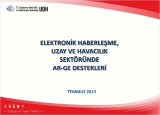ELEKTRONİK HABERLEŞME,