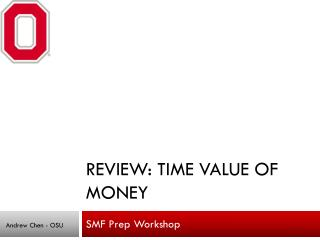 Review: Time Value of Money