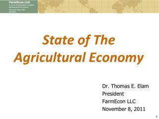 State of The Agricultural Economy