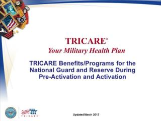 TRICARE Eligibility:  Register Your Family in DEERS