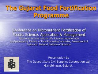 The Gujarat Food Fortification Programme