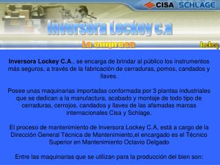 Inversora Lockey c.a