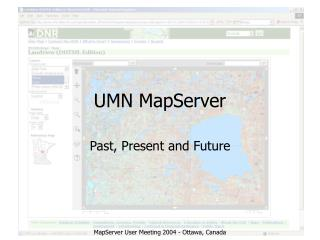 UMN MapServer