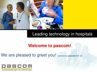 Leading technology in hospitals