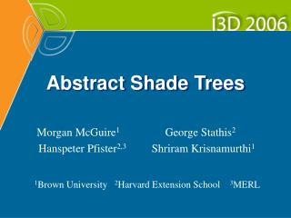 Abstract Shade Trees