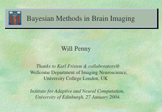 Bayesian Methods in Brain Imaging