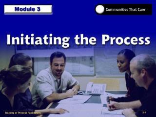 Training of Process Facilitators