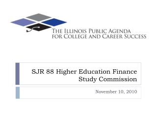 SJR 88 Higher Education Finance Study Commission