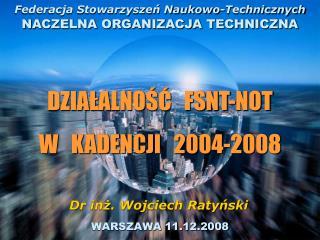 WARSZAWA 11.12.2008