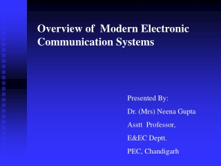 INTRO  TO FIBRE OPTICAL COMMUNICATION