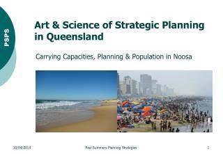 Art & Science of Strategic Planning in Queensland