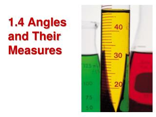 1.4 Angles and Their Measures