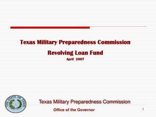 Texas Military Preparedness Commission