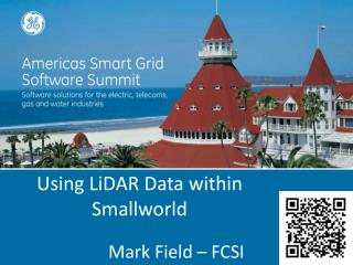 Using  LiDAR  Data within Smallworld