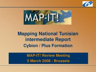Mapping National Tunisian intermediate Report