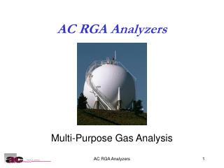 AC RGA Analyzers