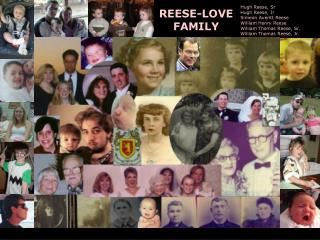 REESE-LOVE FAMILY