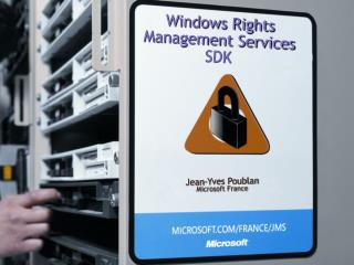 Windows Rights Management Services SDK