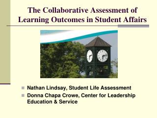 The Collaborative Assessment of Learning Outcomes in Student Affairs