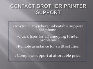 Contact Brother Printer Support 1-800-832-1504 | Toll Free