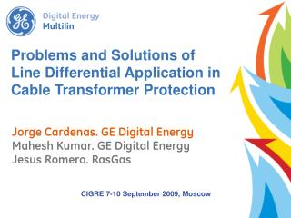 Problems and Solutions of Line Differential Application in Cable Transformer Protection