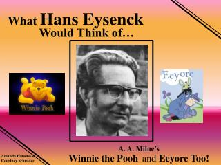 What Hans Eysenck