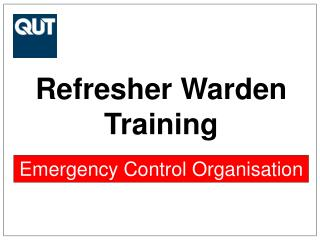 Refresher Warden Training