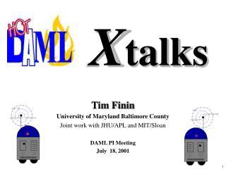 X talks