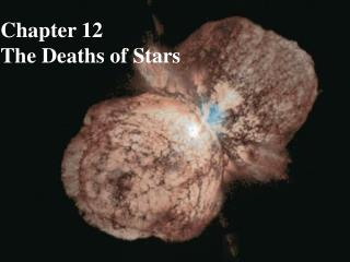Chapter 12 The Deaths of Stars