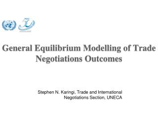 General Equilibrium  Modelling  of Trade Negotiations Outcomes