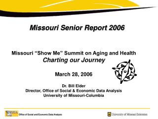 Missouri Senior Report 2006