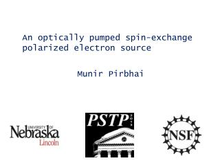 An optically  pumped spin-exchange polarized electron source