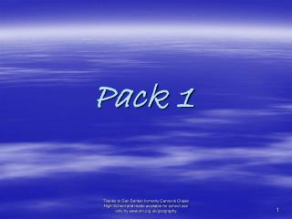 Pack 1