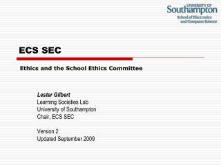 ECS SEC
