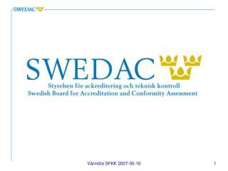 Hälso- och sjukvårdens kvalitetsstatus  inom Sverige och i Europa?